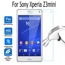 Buy Sony Xperia Z3mini Tempered Glass Sony Xperia Z3 Compact M55W D5803 D5833 Screen Protector Cover Protective Film Case for $1.38 in AliExpress store