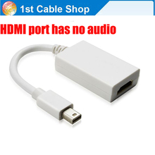 Thunderbolt to HDMI adapter cable(compatible)Mini displayport to HDMI cable adapter for Apple Macbook pro air
