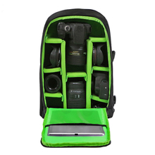 Buy Water-resistant DSLR Backpack Camera Video Bag Shockproof Photography Padded Nikon Canon Sony DSLR Camera Lens Accessories for $29.16 in AliExpress store