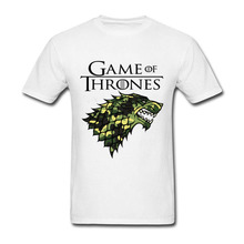 2017 Camouflage new fashion Game of throne wolf printed funny Men T-Shirt Game of throne 3d t shirt vespa male unicorn kawaii(China)