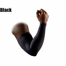 1PC Genuine Elastic Basketball Brace Lengthen Armguards Sunscreen Sports Protective Forearm Elbow Pad Sleeve Arm Warmers