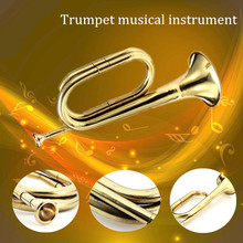 Trumpet Mouthpiece Bugle Brass Practice Copper with for School-Band Beginner Military-Orchestra