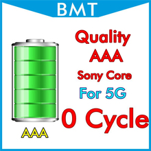 BMT original 10pcs/lot Quality AAA 0 zero cycle Battery for iPhone 5 5G 1440mAh 3.7V MFR For Sony Core BMTI5G0BTAAA(China)