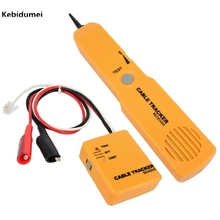 1pcs Portable Handheld Telephone Cable Tracker Phone Wire Detector RJ11 Line Cord Tester Tool Kit Tone Tracer Receiver