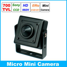 Specialty Sony 960H CCD Effio 700TVL 0.001LUX Small Mini Video Surveillance Security Micro CCTV Camera Security Camcorder