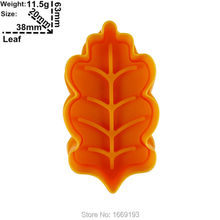 Banana Leaf Pattern Printing Molds,Food Grade Plastic Cake Decorating Cutters Tools,Direct Selling