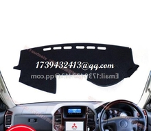 for Mitsubishi Montero Pajero 3 V77 V75 v73 2000 2001 2002 2003 2005 2006 dashmats car-styling accessories dashboard cover RHD