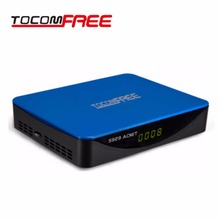 ROCOMFREE S929 ACM/T H.265 With WiFi Satellite TV Receiver DVB-S2 with ISDBT IKS SKS FREE Support Newcam Cccam Power VU Stock