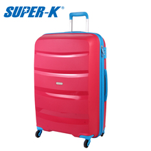 SUPER-K 28 Inch Big Scratch Resistant Trolley Case Hardside New Rolling Luggage Bags Suitcase With Wheels SHL64616-B(China)