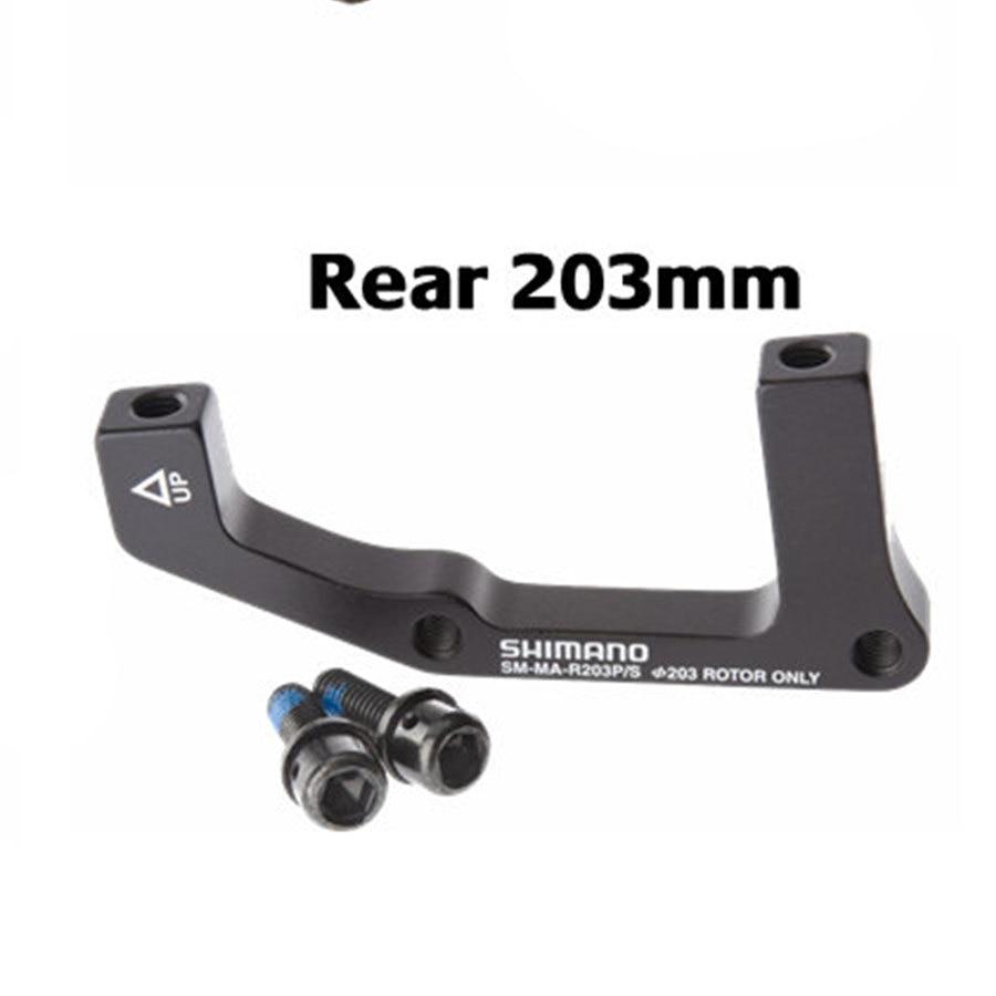 Shimano Adapter Bremsscheibenadapter SM-MA-R180P//S 180mm rear