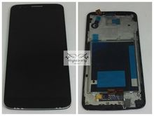 For Lg G2 D802 D805 Lcd Screen Display with Touch Glass DIgitizer +Frame Assembly Replacement Pantalla