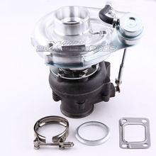 T04E T3 T4 .63 A/R V-band GT35 Turbo Compressor 420 Boost .63 A/R 2.0-3.5L Turbocharger Stage III Wastegate for Audi VW 1.8T VR6(China)