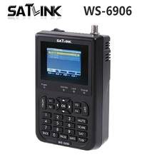 "[Genuine] Satlink WS-6906 3.5"" DVB-S FTA digital satellite meter satellite finder ws 6906 satlink ws6906 free shipping Yojia"