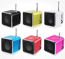 New Hot TD-V26 Portable Mini Speaker portable radio with Digital and Micro SD / TF / USB / FM Radio(China)