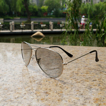 High quality Circular Polarized 3D Metal Glasses Passive 3D Eyewear for LG CINEMA 3D TV/RealD 3D Cinema