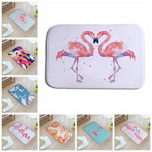 Creative Flamingo Printed Home Decor Floor Carpets Mats Outdoor Door Mats Kitchen Bathroom Hallway Children Rooms Rugs HotSale