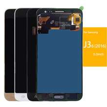 Buy szHAIyu Tested Adjust Brightness LCD Display + Touch Screen Samsung Galaxy J3 2016 J320 J320A J320F J320M J320FN LCD for $23.99 in AliExpress store