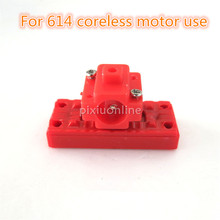 Brand New J100b Red Plastic Micro Motor Base for our 716 Coreless Motor Model Helicopter Making Sell at a Loss