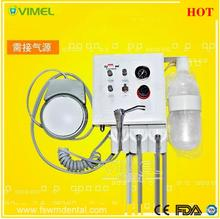High Quality Wall Type Hanging Dental Lab Portable Turbine Unit Handpiece tube 2 pcs 4 hole or 2 hole tube