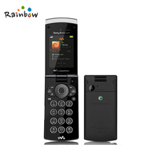 Original Unlocked Sony Ericsson W980 Gallery Mobile Phone W980i Flip Cellphones 3G Bluetooth 2.2 Inch Screen