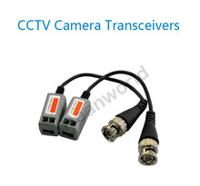 UTP,cctv BNC video Balun cctv camera Transceivers with PCB board inside stable CCTV spare parts video balum for camera and DVR(China)