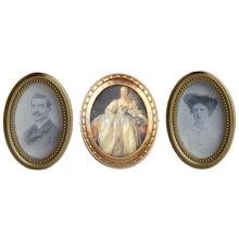 1 Pair Resin Frame Couple Photos Dollhouse Picture & 1 Lady Mural Wall Painting 1:12 Dollhouse Miniatures Furniture(China)