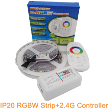 2.4G RGBW LED Controller + 5M 5050 RGBW LED Strip IP20 Non-waterproof 60 LED/M Flexible LED Tape RGB White or RGB Warm White