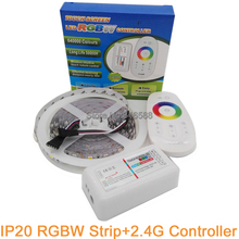 2.4G RGBW LED Controller + 5M 5050 RGBW LED Strip IP20 Non-waterproof 60 LED/M Flexible LED Tape RGB White or RGB Warm White(China)