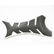 1pcs Universal Carbon Fiber Motorcycle Tank Pad Protector Sticker Fish Bone Style Motorcycle Oil Tank Stickers(China)