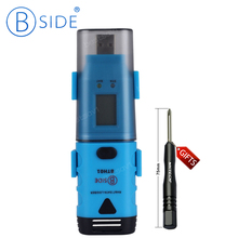 Bside BTH01 Portable Two Channel Temperature Humidity Dew Point Data Logger With LCD Display USB Interface