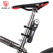 WHEEL UP Bike Lock Anti-cut Security MTB Folding Bike Lock Professional Anti-theft Alloy Steel Foldable Bicycle Lock Keys