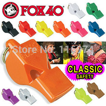 5000pcs/lot Any Colour Custom Made Free Colorful Fox 40 Whistle Sport Whistle Refree Whistle(without Canada logo)