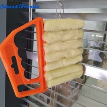 Sweettreats Microfibre Venetian Blinds Cleaning Brush Air Conditioner Window Duster Dirt Cleaner(China)