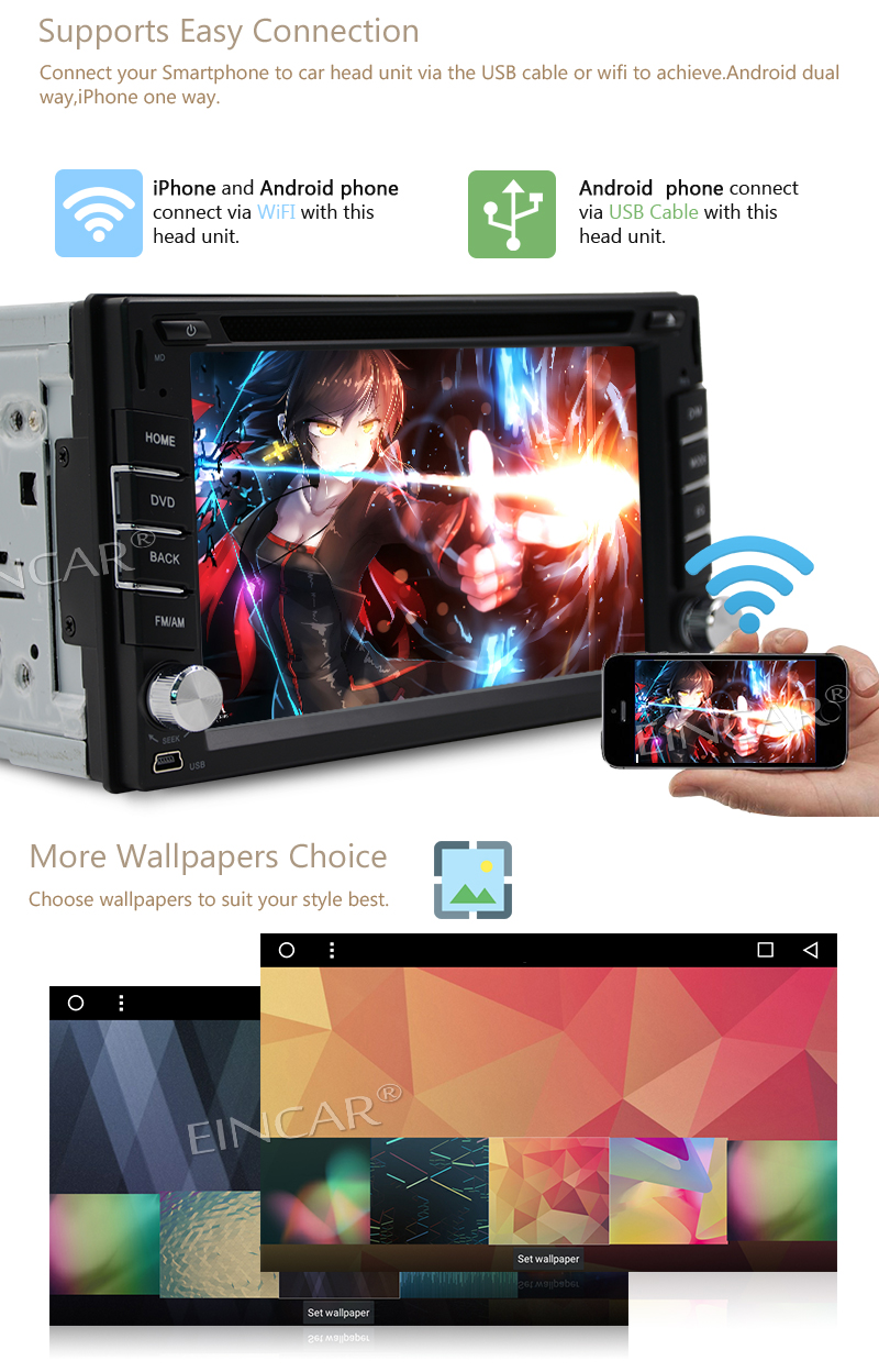 Free Backup Camera+Android 7.1 Car Audio Dual DIN DVD GPS navigator Tablet PC navigation support Bluetooth/OBD2/MirrorLink/WiFi