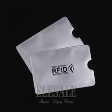 10 pcs Cedit Card RFID Card Sleeve Protector Anti Scan Anti-magnetic Aluminum Foil Card Holder For Access Control White Card