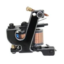Free Shipping! Hot Professional Handmade Tattoo Machine Retail or Wholesale 10 Wrap Coils Machine 1100261