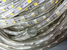 AC110V 230V High Voltage SMD 5050 Led Strip light+Power plug,60led/m IP65;14.4W/meter;hight bright