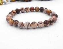 Natural Stone Strand Bracelets With Stones Love Casual Men Jewelry White  Beads Bracelets & Bangles for Women 2017 Gif