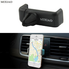 MIXIAO Suporte celular Automobile air-conditioning outlet cellular phone support Car navigator bracket Suitable