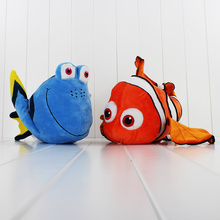 2pcs/lot American Cartoon Movie Finding Nemo Dory Plush Toy Stuffed Doll Animal Toys for Kids Gift Free Shipping