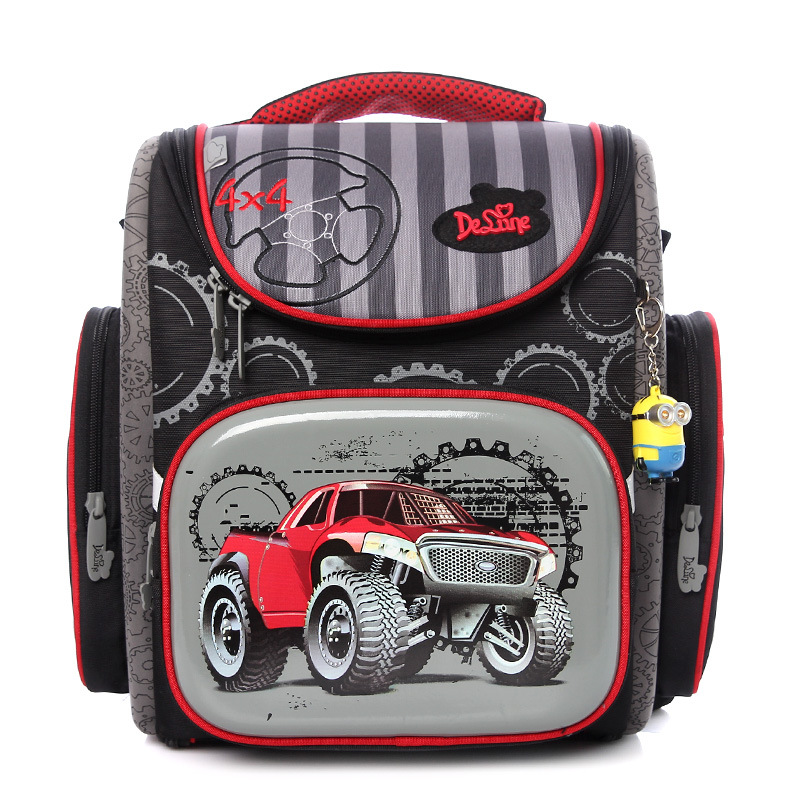 COOL brand car large capacity children students Folding school bag boys waterproof kids backpack travel child Stationery bags<br><br>Aliexpress