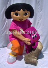 High qulaity Wholesale  Dora mascot Apparel Character Dora dress  EVA Material