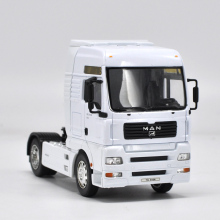 High simulation truck, 1: 32 engineering car,Tractor Trailer European Truck MAN,Advanced model,free shipping(China)