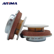 AIYIMA 2Pcs 27MM Vibration Speaker Resonance Speaker 2W 4ohm DIY HiFi Full Range Speaker Audio Stereo loudspeaker Accessories