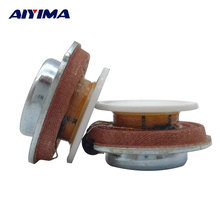 AIYIMA 2Pcs 27MM Audio Portable Vibration Speakers Resonance Speaker 2W 4ohm DIY HiFi Full Range Speaker Stereo loudspeaker(China)
