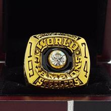 1974 Pittsburgh Steelers super bowl Championship Ring 11 Size high quality in stock for sale .(China)