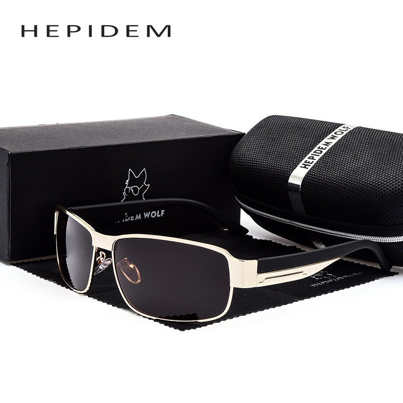 HEPIDEM 2017 New Mens Cool Square Polarized Sunglasses Men Brand Designer Oversized Sun Glasses Accessories Gafas Oculos H8485<br><br>Aliexpress