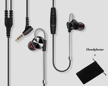 Sport headset FGW3 Bass headphones HiFi metal earphone with mic for iPhone 6 5S samsung xiaomi xiomi huawei sony oppo phone mp3