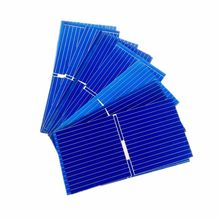 100pcs solar panel Polycrystalline Silicon solar module 52 * 26mm DIY 0.25W 0.5V Photovoltaic Panel for DIY Home Solar Sistem