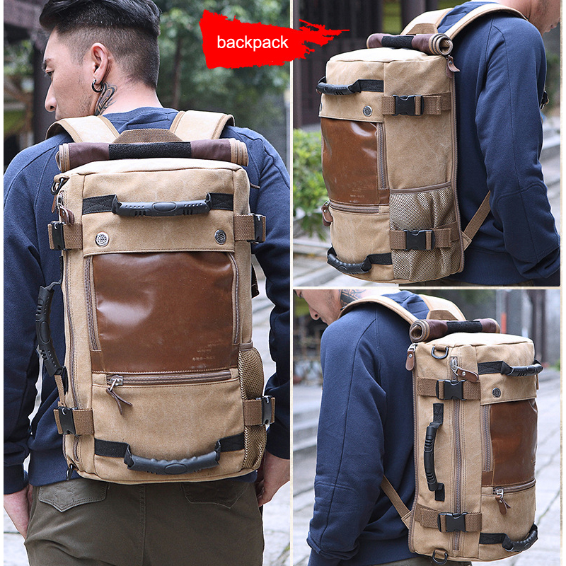 Brand Stylish Travel Large Capacity Backpack Male Messenger Shoulder Bag Computer Backpacking Men Multifunctional Versatile Bag<br>